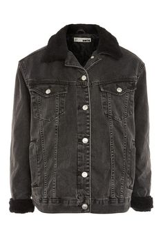 Black Borg Denim Jacket