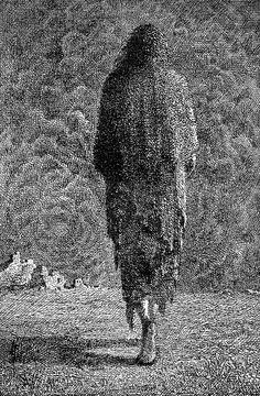 Mervyn Peake. Illustrations to Coleridge's Rime of the Ancient Mariner. 1943.  Striking illustrations to the work of English poet Samuel Taylor Coleridge, written in 1798.Magic Transistor on Tumblr