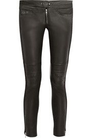 Isabel Marant Kerry stretch-leather skinny pants