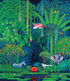 Rainforest by Hiroo Isono