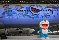 japan airlines doraemon - Google Search