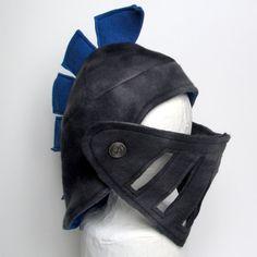 Knight and Princess Birthday Party: knight helmet