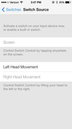 Con iOS 7 Podrás Controlar tu iPad con ... ¡la Cara!