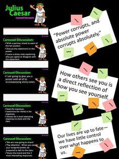 julius caesar study guide answers