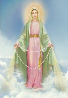 Los Misterios de Contemplación (el Rosario) | Voz y Eco de la Madre Divina