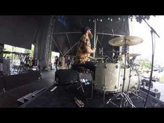 Holly Miranda - Waves (Partial) - Governors Ball 2016 (GoPro DrumCam)