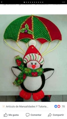 23 Ideas sewing projects christmas stocking for 2019 Felt Christmas Ornaments, Christmas Fun, Christmas Stockings, Christmas Wreaths, Christmas Projects, Felt Crafts, Diy And Crafts, Christmas Crafts, Disney Christmas Decorations