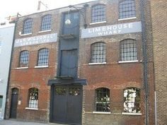 The warehouse above is typical of the waterside storehouse that received millions of pounds worth of goods each day from all over the empire and were the constant target for thieves such as Freddie's Black Eagle Gang. Warehouse Living, Victorian London, East London, Beams, Facade, Hold On, Multi Story Building, Mansions, House Styles