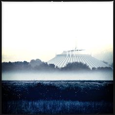 Foggy Space Mountain #spacemountain #fog #foggy #disney #magickingdom #disneyworld #disneygram #disneyparks #disneyphoto #disneylove #disneylife #disney #waltdisneyworld #wdw #happiestplaceonearth #morning #canon #blackandwhite #landscape #photooftheday #bestoftheday #picoftheday