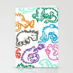 #Society6                 #love                     #Crayon #Love: #Dragons #Stationery #Cards #Ornaart                           Crayon Love: Dragons Stationery Cards by Ornaart                              http://www.seapai.com/product.aspx?PID=1729725