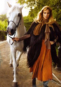 Horse and fashion.
