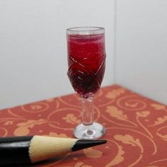 Red Wine--Miniature