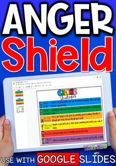 Students will learn calm down skills to use when angry, and create their anger shield with the coping skills they would use. Great for students who are struggling with anger triggers and for creating a virtual calm down corner. Includes a digital version for use with Google Slides and Google Classroom for digital learning. #angermanagement #angermanagementforkids Early Elementary Resources, Elementary School Counseling, School Counselor, Elementary Schools, Coping Skills, Social Skills, Anger Management Activities For Kids, Emotional Development, Social Emotional Learning