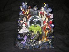 "RARE Disney ""Villains"" Snow Globe | eBay"
