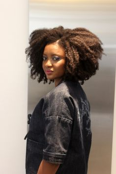 4 C Hair afro style by @timodellemagazine