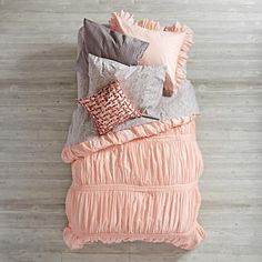 Modern Chic Duvet Cover (Pink)  | The Land of Nod