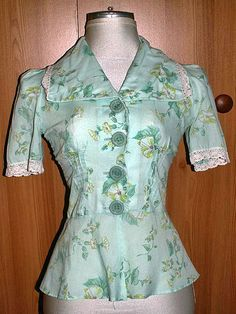 When my mother bought this in the 70s, it was already Vintage! Ca. 1940s