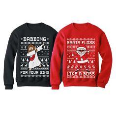 Skulls Cross-Bones Santa Hat Cute Christmas Toddler//Kids Sweatshirt Tstars