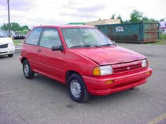 1991 Ford Festiva GL Car