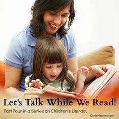 Simple things parents can do while reading with their children.