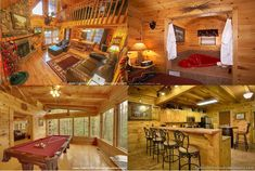 Some cozy indoor scenes this winter from a selection of rental cabins on Half-Price special during January in the Gatlinburg & Pigeon Forge area. Smoky Mountain Cabin Rentals, Smoky Mountains Cabins, Great Smoky Mountains, Pigeon Forge, Half Price, My Dream, National Parks, January, Cozy