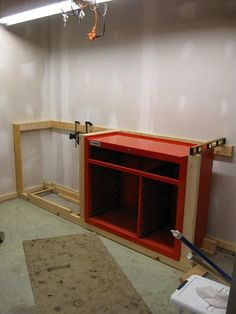"""Workbench to House 44"""" HF Tool Cabinet? - The Garage Journal Board"""