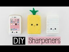 diy sharpeners school supplies for back to school Diy Back To School Supplies, Back To School Organization, Diy Supplies, Organization Ideas, Fimo Kawaii, Kawaii Diy, Tumblr Phone Case, Diy Phone Case, Phone Cases