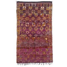 Small Beni Mguild Moroccan Berber Rug