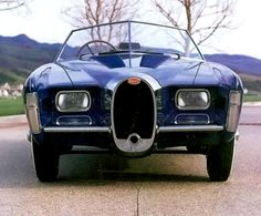 1966 Exner Bugatti Roadster by Ghia