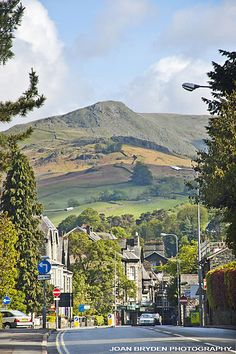 Lake Road and High Pike, Ambleside, the Lake District, Cumbria. been here