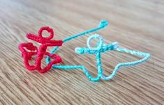 Nautical Wire Jewelry Set | Ahoy matey! It's time to drop anchor and start crafting these gorgeous nautical jewelry pieces!