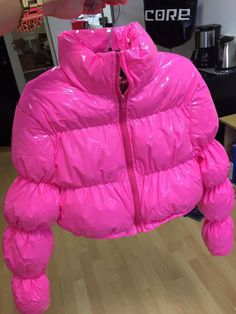 For sale 30 or 20 i have more in blue,pink,yellow,red, Pink Puffer Coat, Girls Puffer Jacket, Women's Puffer, Puffer Jackets, Winter Jackets, Red Aesthetic Grunge, Aesthetic Vintage, Aesthetic Girl, Cute Swag Outfits