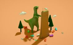 """""""Short animations"""" July on Behance"""