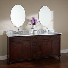 walnut vanity http://www.signaturehardware.com/bathroom/bathroom-vanities/72-weiss-walnut-double-vanity-with-undermount-sinks.html