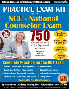 Take this free NCE practice test to see what type of questions are on the National Counselor Exam. It will help you prepare for the NCE. Once you pass the NCE, you can become a National Certified Counselor. Human Growth And Development, Solution Focused Therapy, Life Counseling, School Advertising, Exam Answer, Study Schedule, Exam Review, Practice Exam, Exam Study