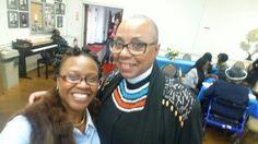 Adrienne Fivehouserocks & Rev Gayle Fisher-Stewart @TECW Women's Day