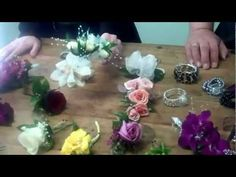 How to Glue Corsages and Create Flower Jewelry! - YouTube