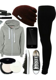 20 more school outfits winter lazy & schulkleidung winter faul school outfits winter lazy & outfits winter Sweater Lazy Outfits, Tomboy Outfits, Teen Fashion Outfits, Emo Outfits, Look Fashion, Outfits For Teens, Casual Outfits, Girl Outfits, Winter Outfits
