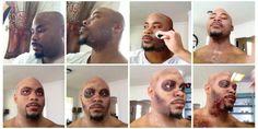 #thewalkingdead inspired zombie makeup. DIY. Charlotte Airbrush Makeup — Beauty Asylum Hair and Makeup