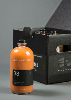 Occult-Inspired Juice Branding : Juice Apothecary