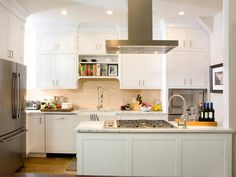 kitchen colors with white cabinets | ... feel in your kitchen, you may want to consider white kitchen cabinets