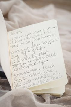 letter to groom on wedding day
