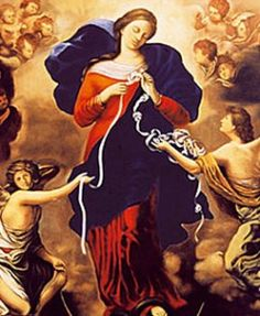 Mary, Undoer of Knots Mother of God and Our Mother Mary, Undoer of Knots, has drawn global adoration and devotion, especially in the time of Pope Francis's election. The Mother of God miraculously conceived Jesus after being visited by the angel Gabriel who told her she would have a child. As the Mother of God,…
