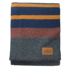 Camp blankets were first designed to meet the rigorous demands of the wild and untamed Pacific Northwest and were a favorite of the early sheepherders in the Northwest. Today, these warm and hardy bla