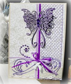 Purple Mother's Day Card