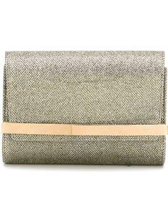JIMMY CHOO 'Bow' Clutch. #jimmychoo #bags #clutch #glitter #hand bags