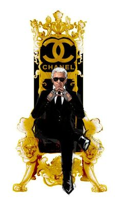 Karl lagerfield for #chanel