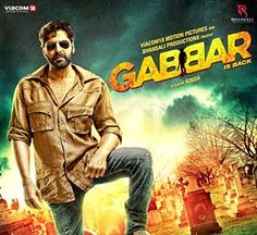 Gabbar is Back is 2015 latest Bollywood Hindi Movie, Akshey Kumar played roll as Gabbar, who creates a vigilante military network to eliminate corrupt officials. As pressure mounts on the police to find out who is responsible for the killings, a special investigator is summoned to track them down.
