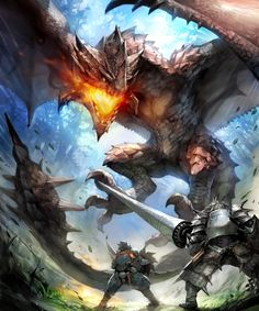 The latest comes from a new trademark of Monster Hunter: World that was recently registered. According to the trademark-diggers, Monster Hunter: World. Monster Hunter Art, Monster Hunter Series, Fantasy Creatures, Mythical Creatures, Alien Creatures, Mythological Creatures, Fantasy Dragon, Fantasy Art, Monster Hunter Rathalos