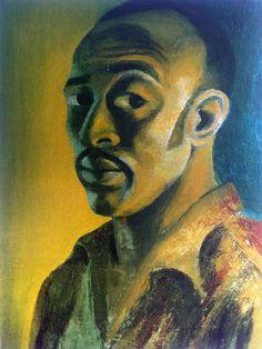 Gerard Sekoto  Self - Portrait